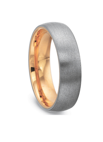 6MM Low Dome Wedding Band