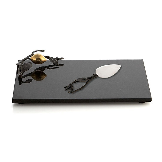 Lemonwood Cheese Board w/ knife