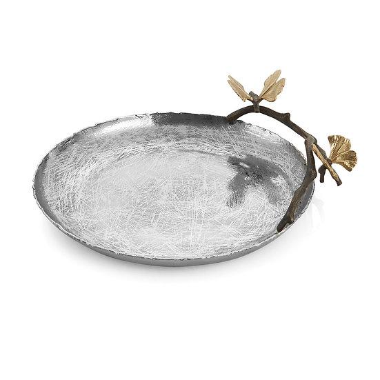 Butterfly Ginkgo Round Platter
