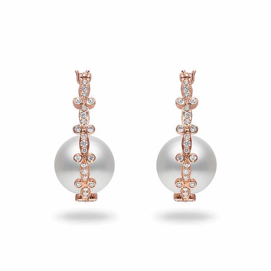 South Sea Diamond Earrings