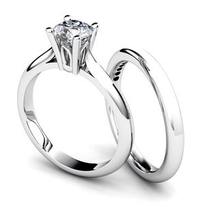 Cathedral Diamond Solitaire Setting