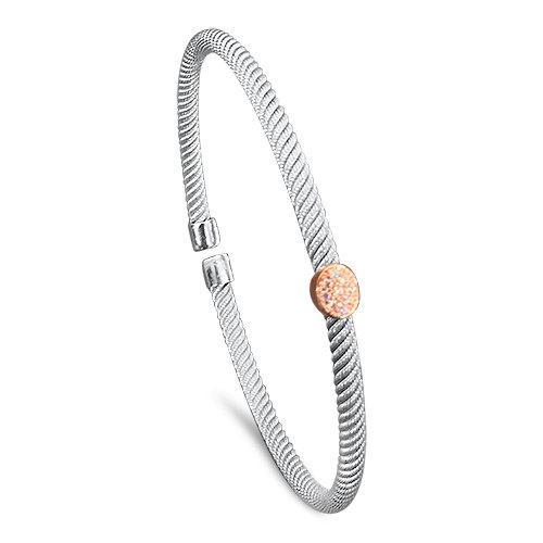Sterling Twist Bracelet