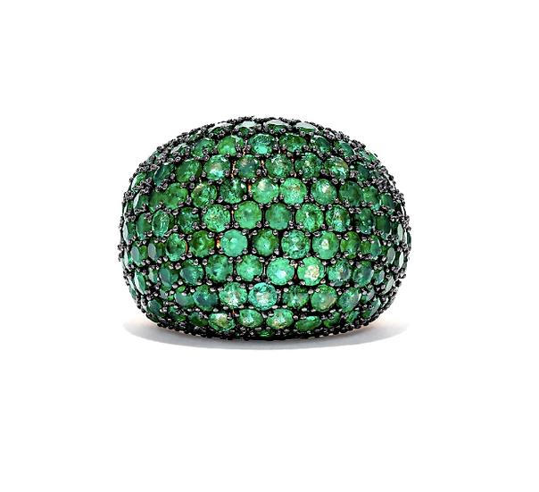 Bombay Emerald Ring