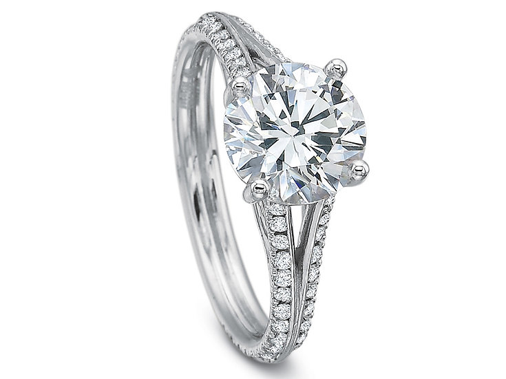 Split Shank Engagement Ring Setting