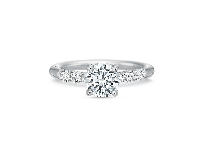 Riviera Diamond Engagement Ring Setting