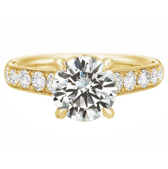 Riviera Engagement Ring Setting