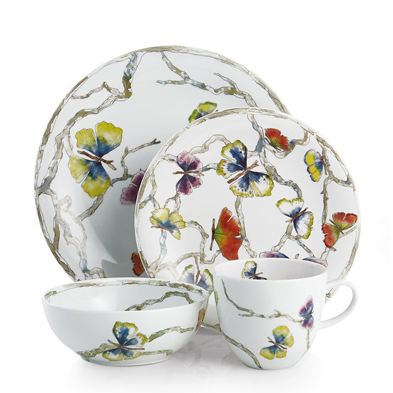 Butterfly Ginkgo 4 Piece Place Setting