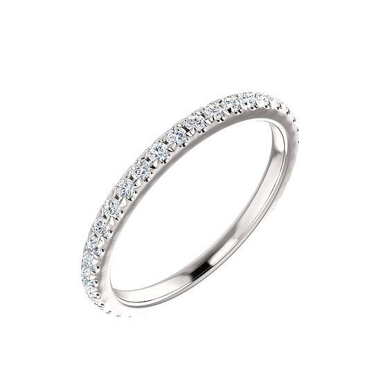 0.40cttw diamond wedding band