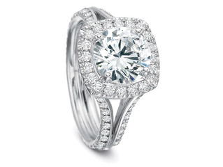 The Halo Engagement Ring