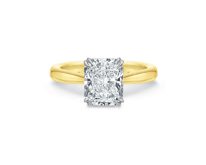 Valentina Radiant Cut Engagement Ring