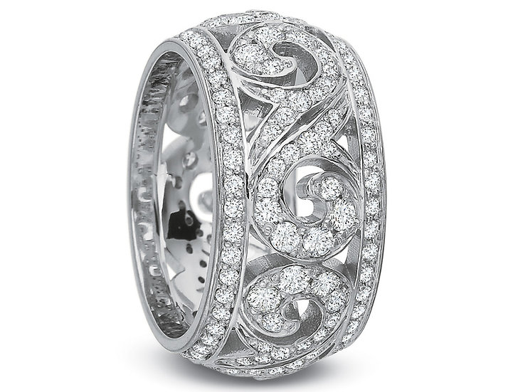 Diamond Swirl Band