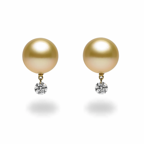 Dancing Diamond South Sea Earrings