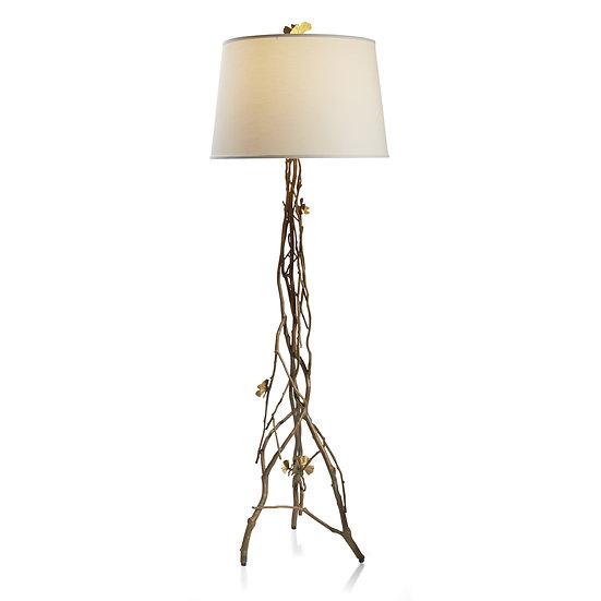 Butterfly Ginkgo Floor Lamp