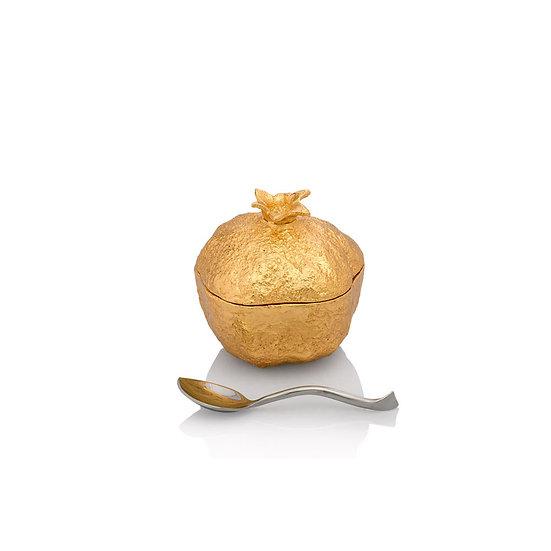 Pomegranate Mini Pot w/ Spoon