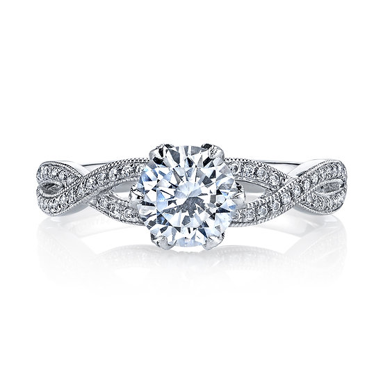 Allure Infinity Engagement Ring