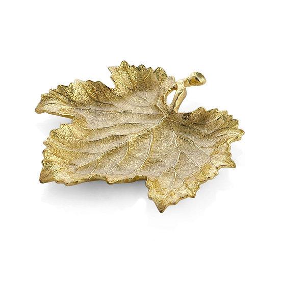New Leaves Grape Leaf Snack Plate