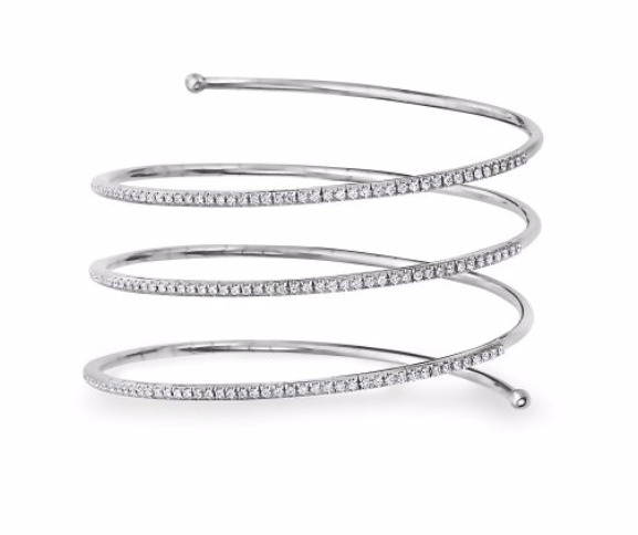 Diamond Wrap Around Bangle