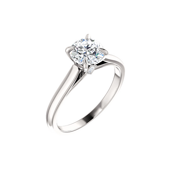 Diamond Solitaire Engagement Ring Setting