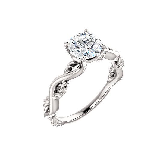 Infinity Diamond Solitaire Ring Setting