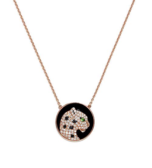 Panther diamond necklace