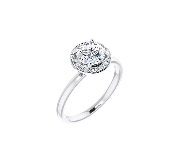 Victoria Halo Engagement Ring Setting