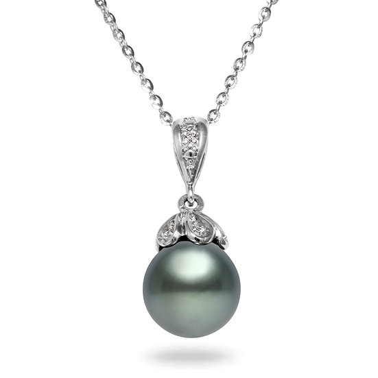 Tahitian Diamond Pendant