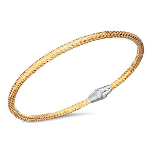 Sterling Weave Bracelet