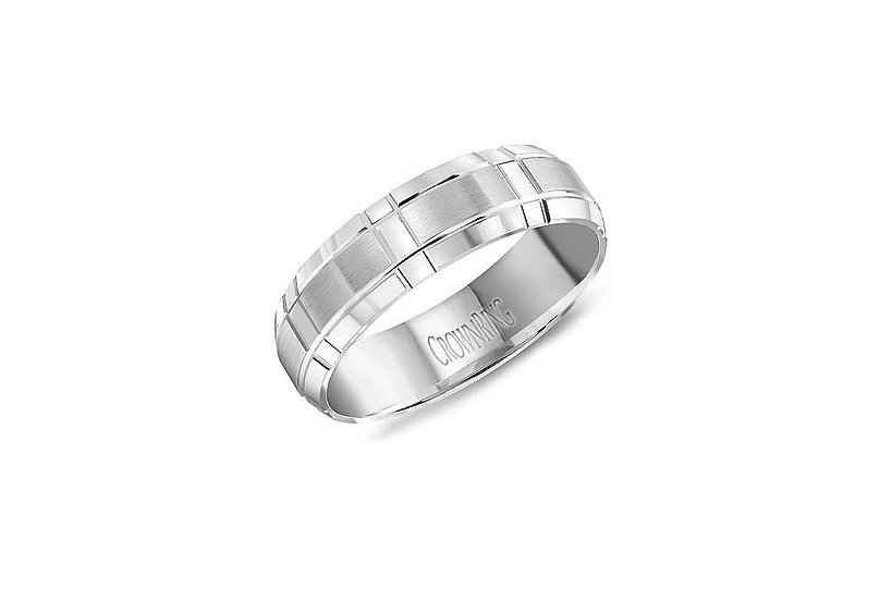 Mens 6mm Wedding Band