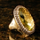 Thumbnail: Lemon quartz chocolate diamond ring