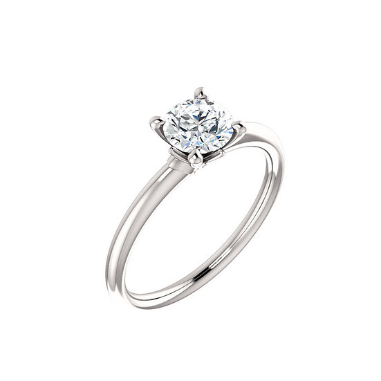 Blossom Solitaire Engagement Ring Setting