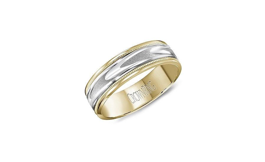 Men's 6mm Gold Wedding Ring