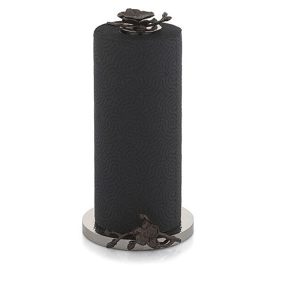 Black Orchid Paper Towel Holder