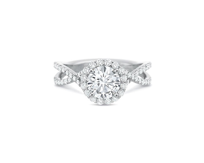 Blossom Diamond Engagement Ring Setting