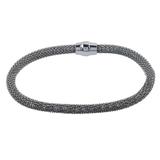 Caviar Sterling Bracelet Black