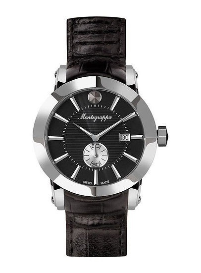 Montegrappa NeroUno Steel Watch