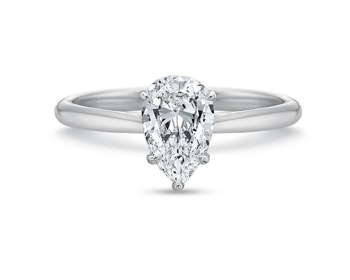 Valentina Pear Shape Engagement Ring Setting