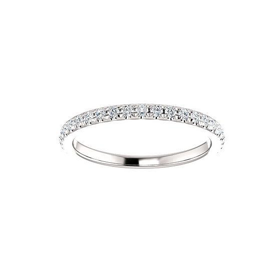 0.40cttw diamond wedding band
