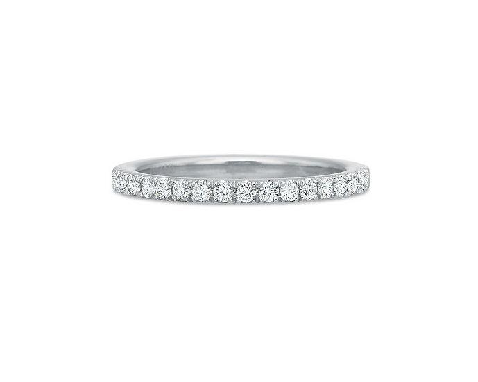 Diamond French Set Wedding Ring