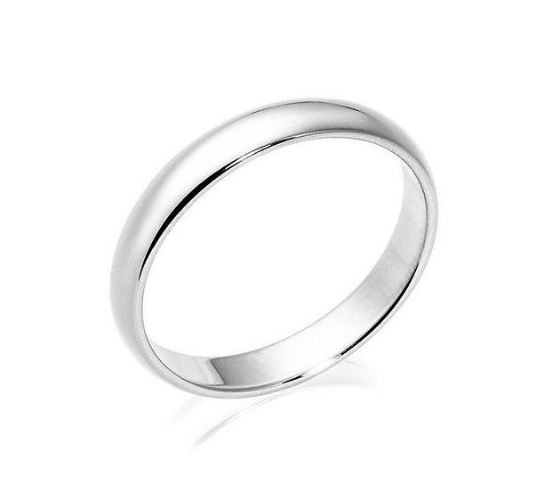 Men's 3.5mm Platinum Wedding Band