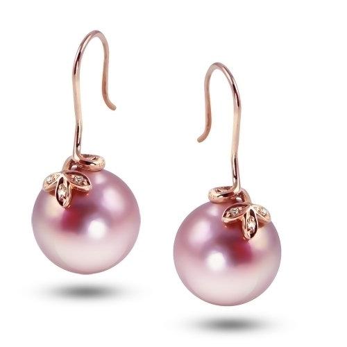 Windsor Pink Pearl Earrings