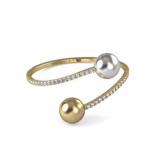South Sea Pearl Bangle