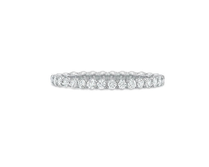 Thin Blossom Eternity Band