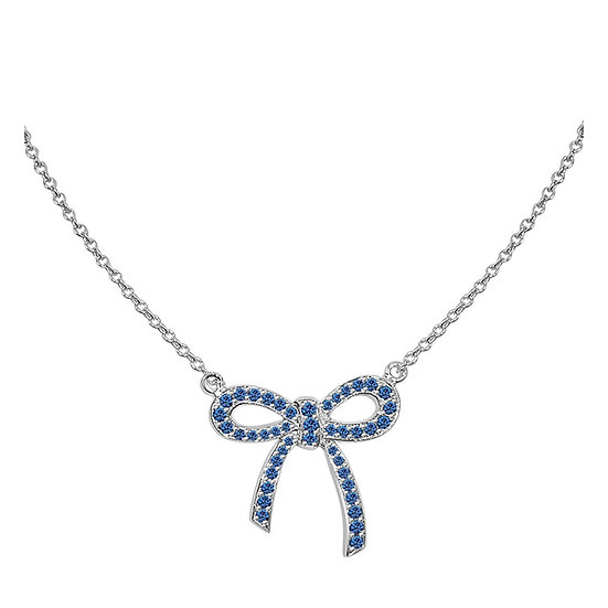 Sapphire Ribbon Necklace