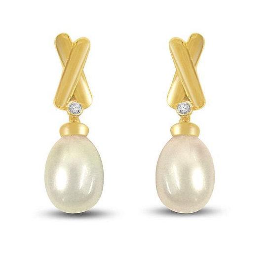 South Sea Pearl Earrings. FE199