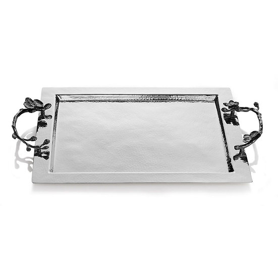 Black Orchid Serving Tray