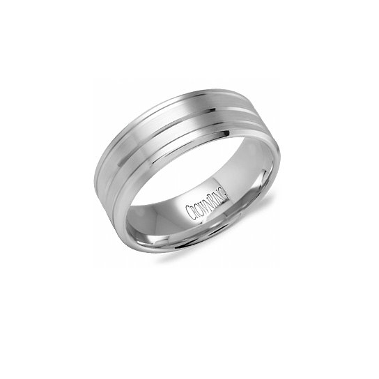 Mens Wedding Band 8mm