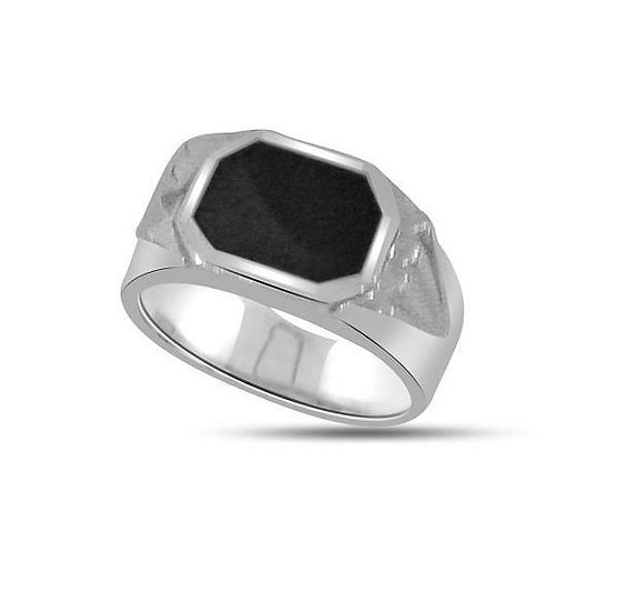 Men's Onyx Gold Ring