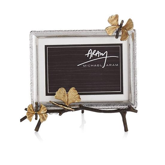 Butterfly Ginkgo Easel Frame