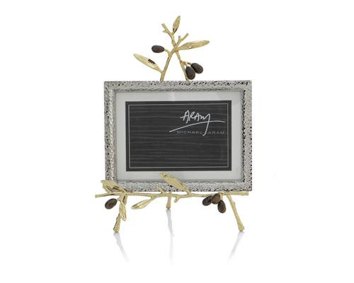 Olive Branch Gold Convertible Easel Frame