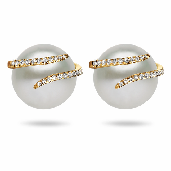 South Sea Diamond Oscar Earrings